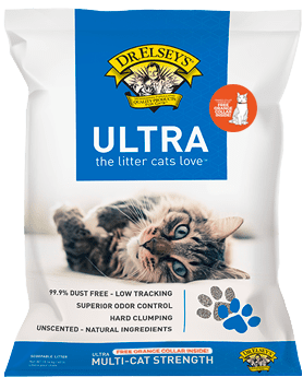 Bag of Dr. Elsey's Ultra Litter