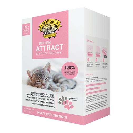 Kitten Attract™ Litter - Dr  Elsey's