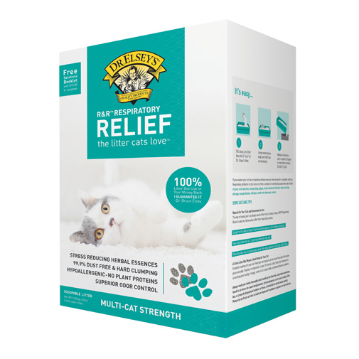R Amp R Respiratory Relief Clumping Clay Litter Dr Elsey S