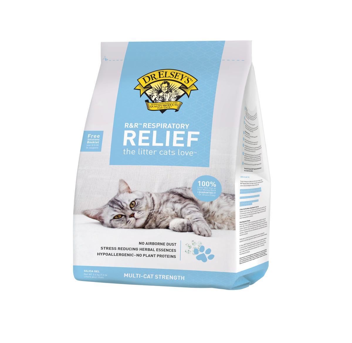 R&R™ Respiratory Relief Silica Gel Litter