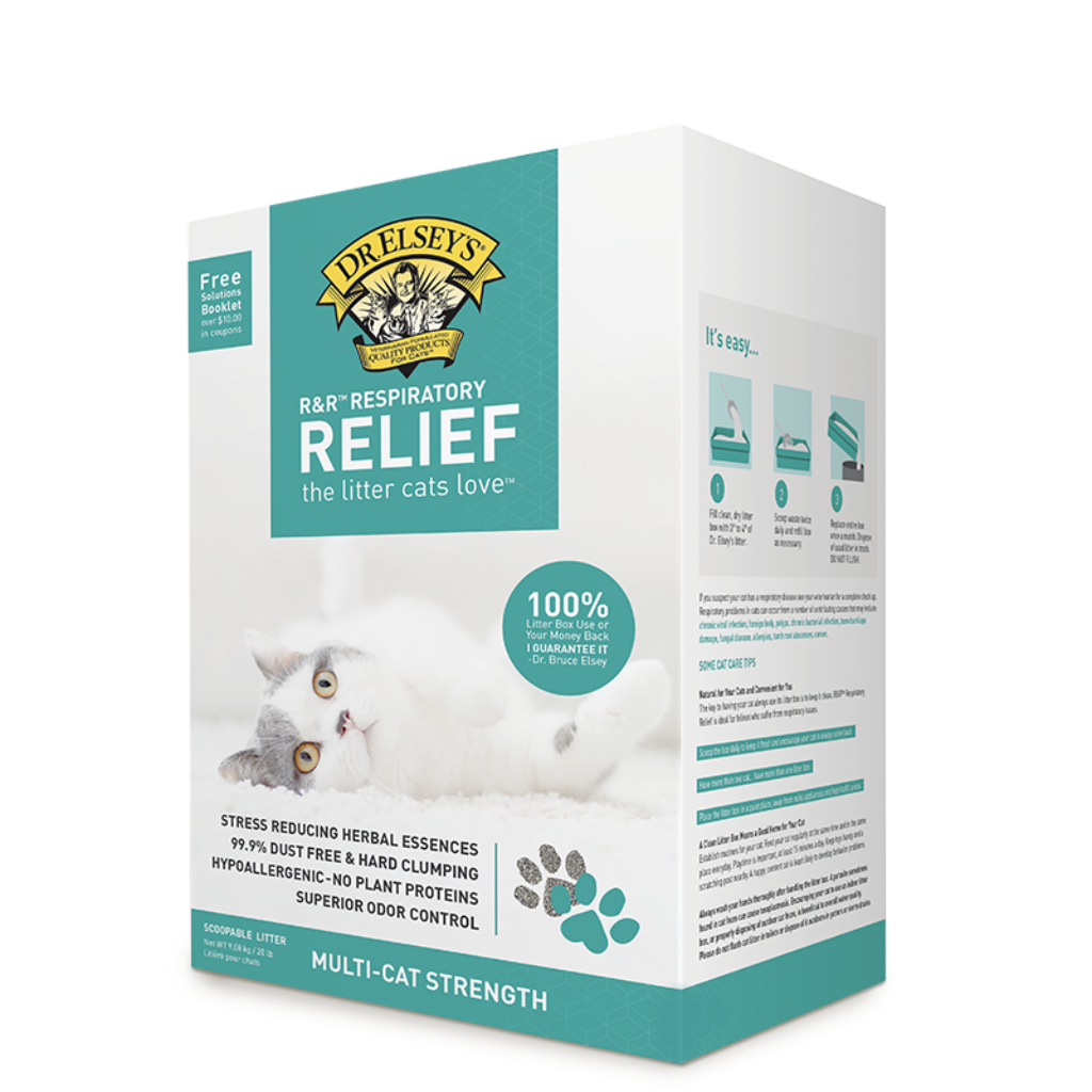 R&R™ Respiratory Relief Clumping Clay Litter