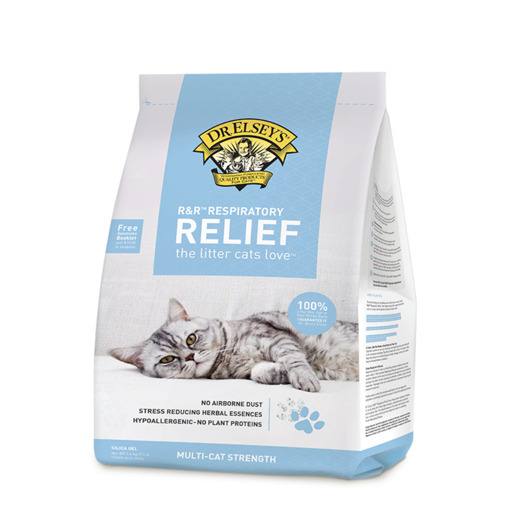 R&R™ Respiratory Relief Silica Gel Litter
